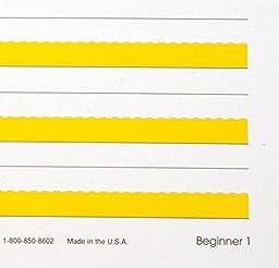 Abilitations Integrations Hi-Write Beginner 1 Paper - Pack of 100