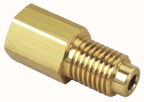 """Robinair (10328) Hose Extension Coupler - 1/2"""" Acme External x 14 mm Internal"""