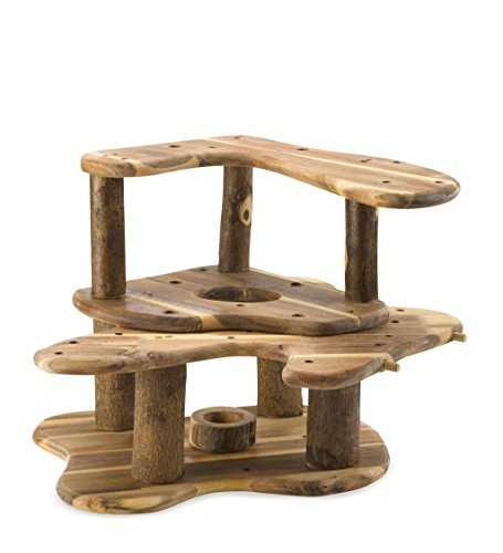 Rustic wooden tree fort buy online in uae toy for Magic cabin tree fort kit