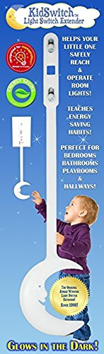 KidSwitch Award-Winning Light Switch Extender for Children & Toddlers (1 Pack Original Style)