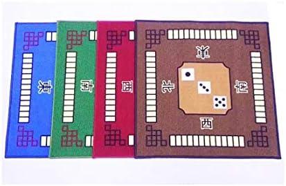 LIULAOHAN Mahjong Mantel, Manta de Mahjong Antideslizante Inferior de látex Antideslizante casera, 4 Colores a Elegir, Adecuado para Juegos de Mahjong / Juegos de Cartas (80 * 80CM) (Color : Red) : Amazon.es: Juguetes y juegos