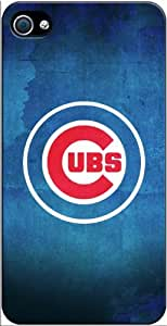 Chicago Cubs MLB iPhone 4-4S Case v2 3102mss