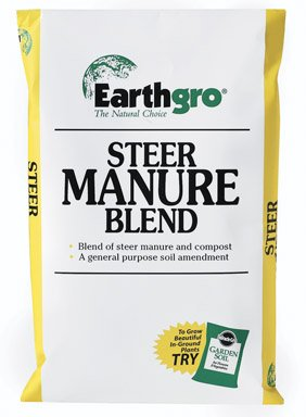 Earthgro Steer Manure Bagged 1 Cu. Ft.