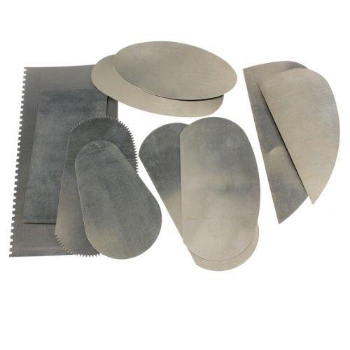 TOOGOO 10pcs raspador de acero inoxidable para arcilla artes de ceramica de artesania de escultura R