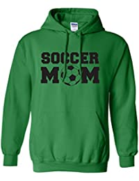 Soccer Mom Adult Hooded Sweatshirt in 9 colors