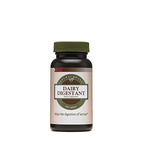 Gnc Natural Brand Dairy Digestant