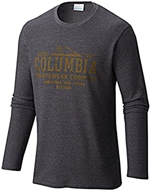 Columbia Men's Big Ketring Graphic Long Sleeve Shirt