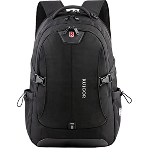SWISS RUIGOR ICON 47 Backpack (Black) with water repellent materials