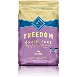 BLUE Freedom Adult Indoor Grain Free Chicken Dry Cat Food 11-lb.