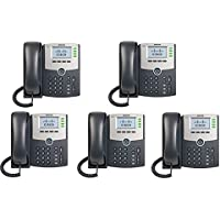 Cisco SPA504G 4-Line IP Phone (5 Pack)