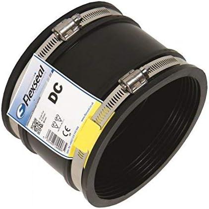 DC95 Acoplamiento de drenaje flexible para adaptarse a OD de 80 mm a 95 mm de tubo de goma flexible reductor de arranque adaptador conector de tuber/ía Joiner