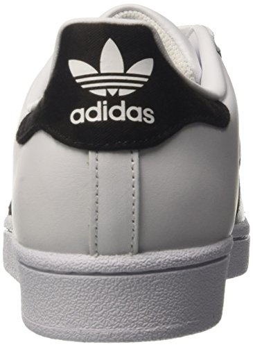 White Superstar Black 46 footwear Uomo Bianco Da Core Scarpe Adidas Basse Ginnastica Eu v8dvPq