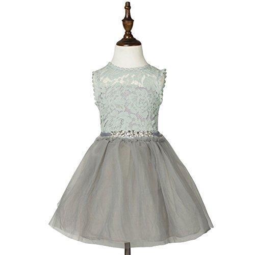 llar Yarn Belt Cotton Lined Sundress Dress Size 5 Grey (Cotton Lined Belt)