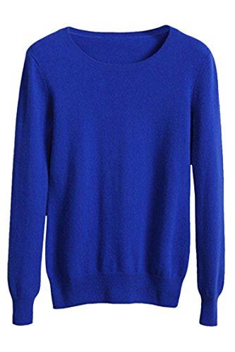 Royal Blue Long Sleeve Pullover - 4