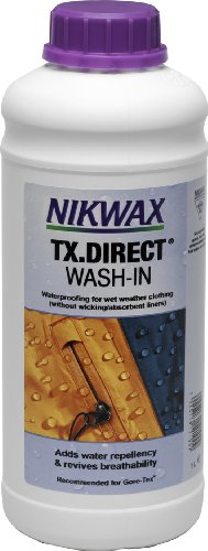 Nikwax TX Direct Wash-in Fabric Water Repellent (33.8 ounces), Outdoor Stuffs
