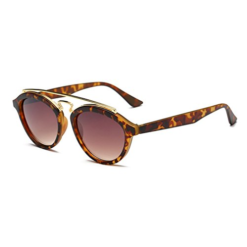 G&T European Unique Style Personality Lady Colorful Lens Wayfarer - Premium Outlets Mo