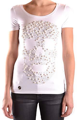 Blanco T Philipp Viscosa shirt Plein Mujer A17cwtk0250pjy002n01 qwTTW17B