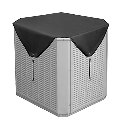 Jeacent Air Conditioner Cover for Outside Units, Heavy Duty Winter Top (Central Air Cover)