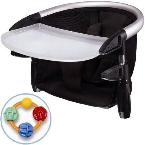 Phil Teds Lobster Highchair with Click Clack Balls Teether Black