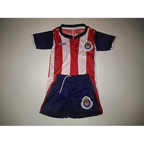 c7e9de23bdde5 50%OFF New! Chivas de Guadalajara Kids & Youth Replica Jersey (Size ...