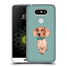 Official Barruf Dachshund, The Wiener Dogs Soft Gel Case for LG G4 / H815 / H810