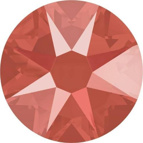 2000, 2058 & 2088 Swarovski Flatback Crystals Non Hotfix Crystal Light Coral | SS12 (3.1mm) - Pack of 100 | Small & Wholesale Packs