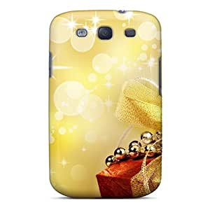 High Quality ZUQIESk8472xiAcZ Golden Holidays Tpu Case For Galaxy S3