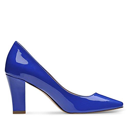 Evita Shoes - Zapatos de vestir de Piel para mujer Azul - azul real