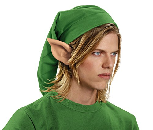 Disguise Men's Link Hylian Adult Costume Ears, Beige, One Size (Cosplay Link Ears)