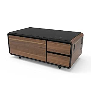 Amazon Com Sobro Soctb300wdbk Coffee Table With