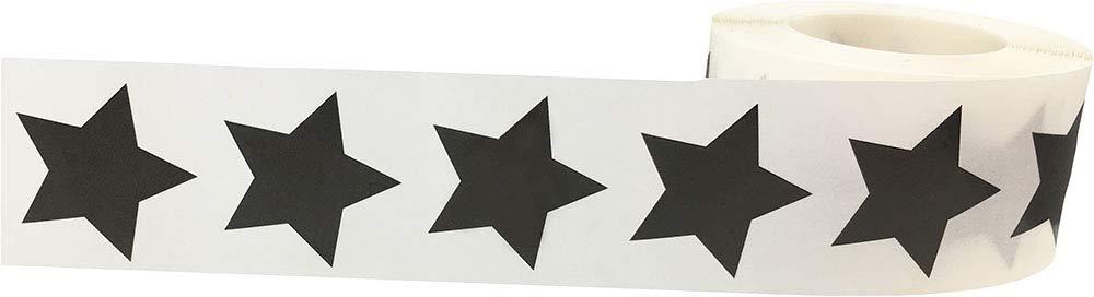 Ologramma Scintillante dArgento Stella Adesivi 25 mm 1 Pollice di Larghezza 500 Etichette su Rotolo