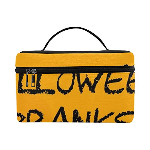 (Halloween Pranks Showing Trick Treat Joker Lunch Box Tote Bag Lunch Holder Insulated Lunch Cooler Bag For)