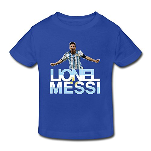AOPO FIFA Ballon D'Or Lionel Messi Shirt For Toddlers Unisex (2-6 Years)