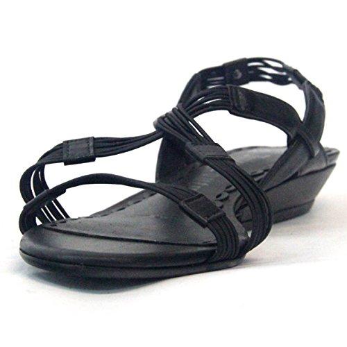 Juicy Couture Sandalia Talla 3,5 Negro - negro