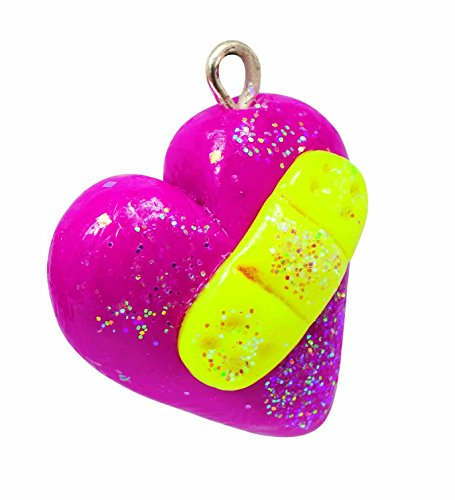 klutz make glitter clay charms craft kit import it all