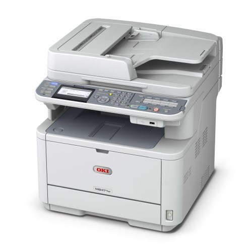 Oki Data MB471w LED Multi-Function Printer (WIRELESS) – Monochrome – Copier/Fax/Printer/Scanner