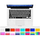 """HRH Taiwanese Taiwan fonts traditional Chinese character Keyboard Cover Silicone Skin for MacBook Pro 13"""" 15"""" 17"""" (with or w/out Retina Display) iMac and MacBook Air 13"""" (Black)"""