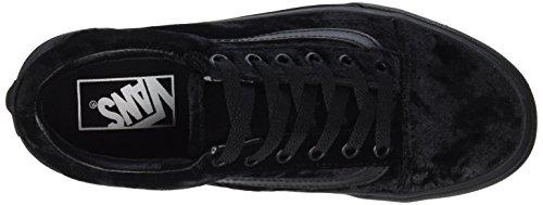 Velvet Skool 6 Vans Black Shoes Old Black Womens Skateboard w1Ix4q
