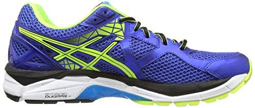 ASICS GT-2000 3, Chaussures Multisport Outdoor Hommes  - Bleu (Blue/Flash Yellow/Atomic Blue 4207) - 44 EU / 9 UK