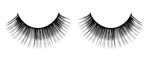 Baci Glamour Eyelashes, No. 564 Black Deluxe