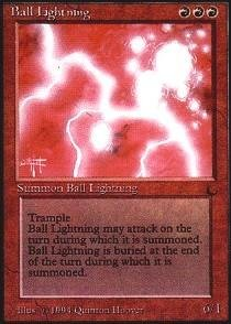 Magic: the Gathering - Ball Lightning - The Dark from Magic: the Gathering