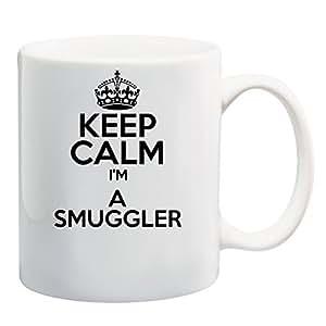 DELTA NOIRE Keep Calm I 'm a Smuggler Mug