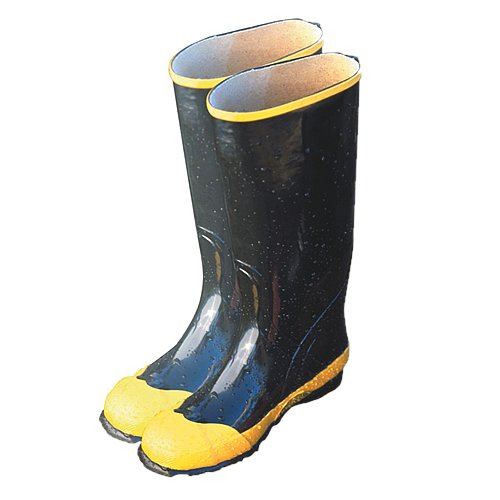 "Majestic Glove 8202/5 Rubber Boot, Steel Toe, Knee, 5"", B..."