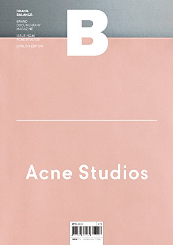 Magazine B - ACNE STUDIO
