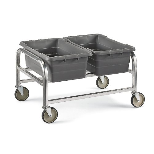PVIFS LUGDB2 Double Wide Lug Cart, 2 Lug Capacity, 33'' Length x 24-1/2'' Width x 20'' Height by PVIFS