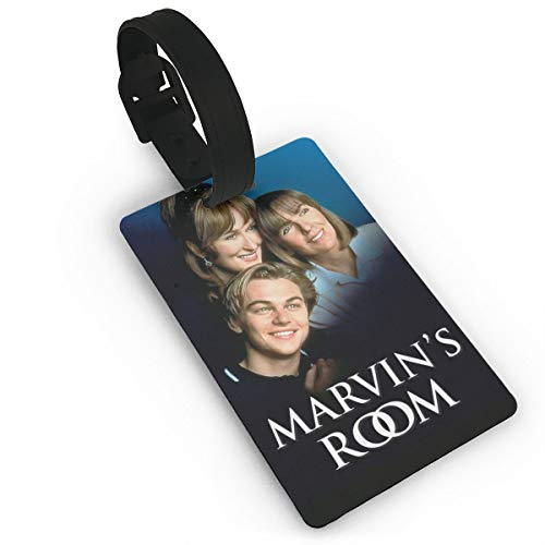 TheresTaalaMaria Marvin's Room Cool Fashion Funny Travel Accessory Luggage ID Tag Name Tags For Luggage Women Men Kids