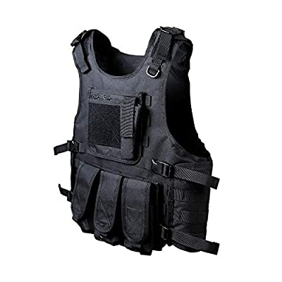 Goetland 900D Polyester Tactical Vest Airsoft Paintball Combat Training Outdoor CS Game Adjustable S-XXL