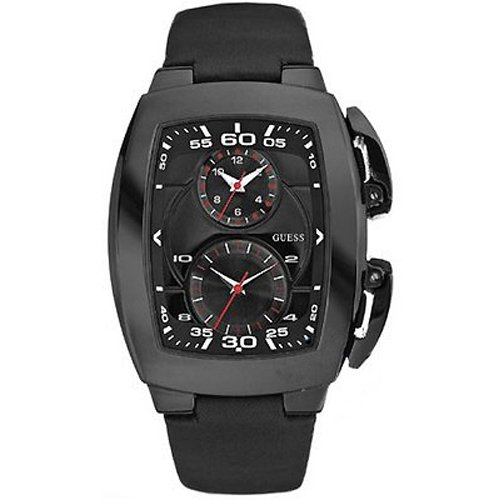 Guess Shuttle-Reloj de pulsera para hombre, color negro