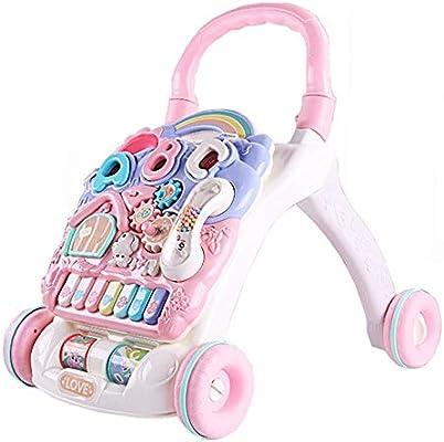 Empuje a lo largo de Walker 6-7-18 meses 1 año de edad Baby Walker ...