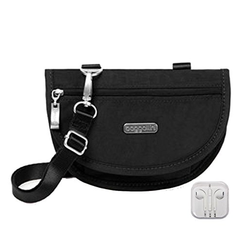Teenee RFID Phone Crossbody - Clutch - Belt Bag Convertible (Black)